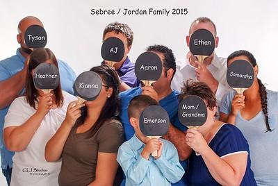 Sebree /Jordan Family 2015