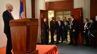 Secretary of State John Kerry's Meet and Greet