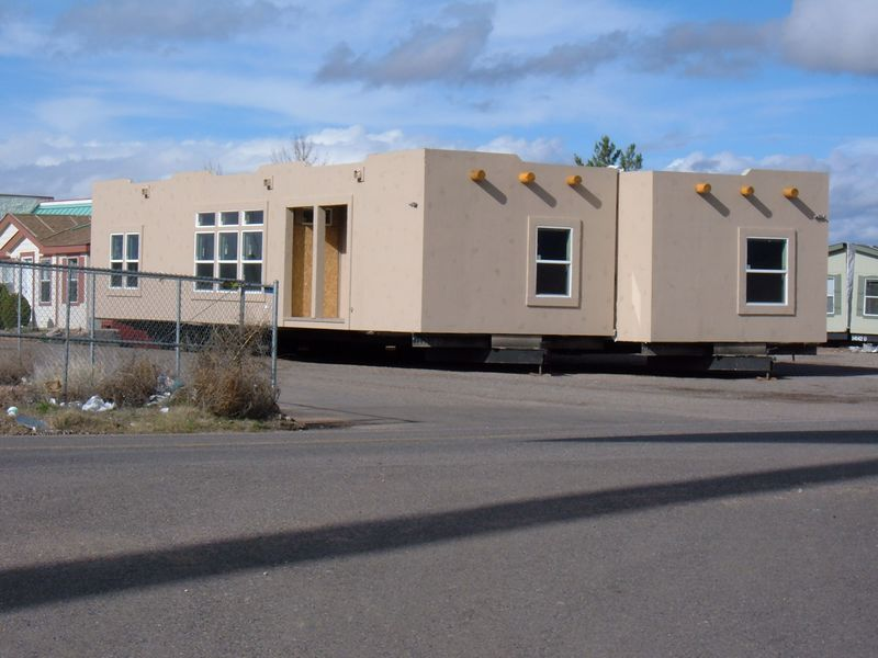 Mobile homes in Arizona take on a different look