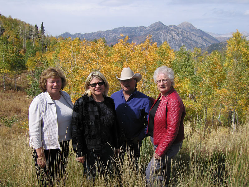 The Seim family...driving the alpine loop