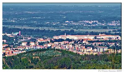 Coimbra, do Castelo das Chãs (de manhã)