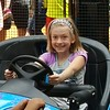 Lila learning to drive.<br /> Bumper cars at the MOA. Age 10.