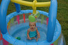 We decided to try water in my ballpit!!!