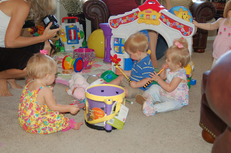 Playgroup at Ally's house