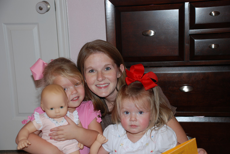 Mommy and her birthday girls!