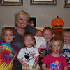 Marme' and all the grandkids.