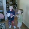 Mason parties hard with Declan