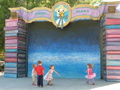 The stage at Fairy Tale Town