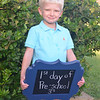1st day of Pre-School in the 3's