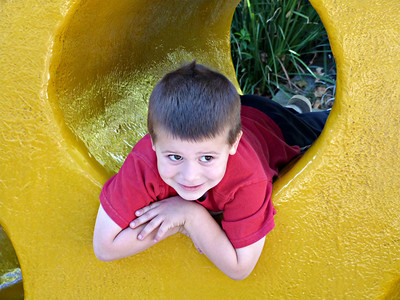 Joey in the cheese at Fairy Tale Town