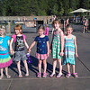 Dari's (2nd from right) & Delaney's (2nd from left) Birthday Party @ the Sharc Swim Center in Sun River.