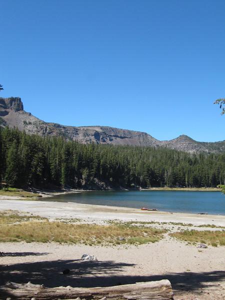 Three Creeks Lake.