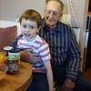Gabey and Grandpa