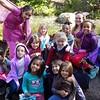 Girl Scouts meet mermaids at the MN Renaissance Festival.
