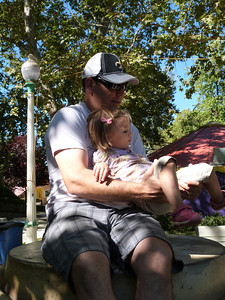 Mark and Cambria at Fairy Tale Town