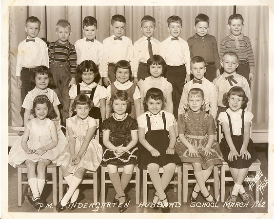 61-62 Kindergarten Photo