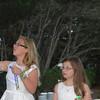 Nicole and Brooke Sunderhaus making bubbles.