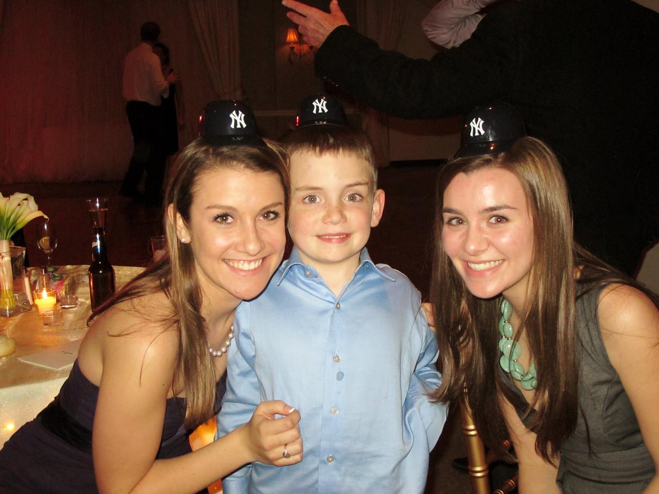Rachel, Steven, Elyssa