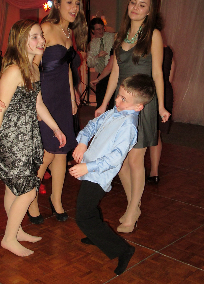 Dancing fool.