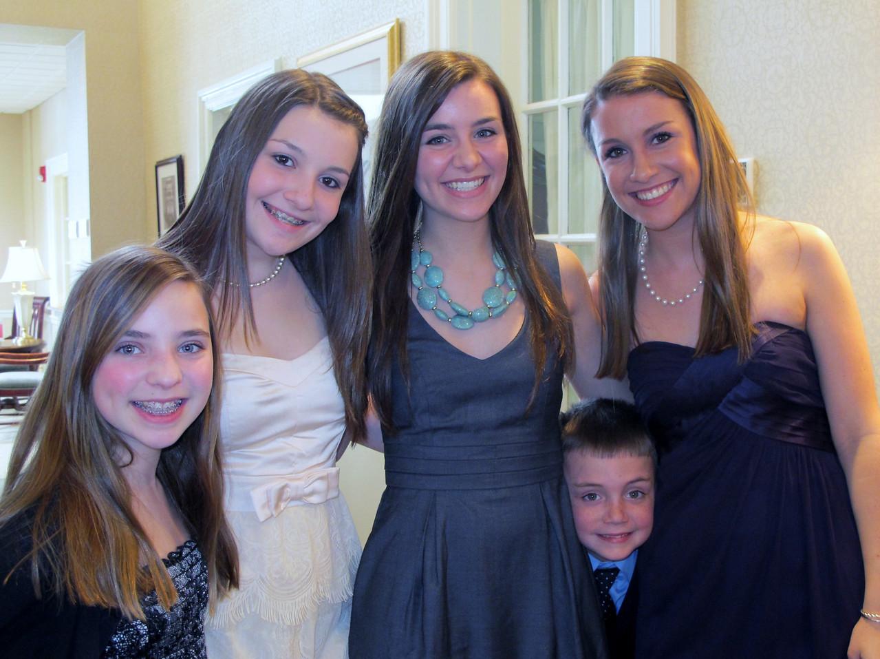 Kari, Emma, Elyssa, Steven, Rachel