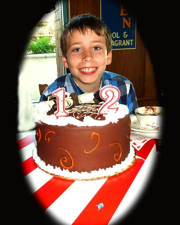 Seth's 12 Birthday