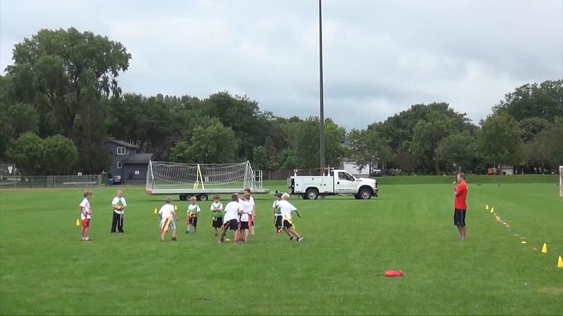 Flag Football Camp part 1, August 19th, 2016