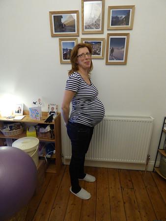 Sharon at 37 weeks