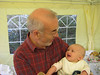 Dad talking (again!) to Mae. She might not have understood a word he said, but she appreciated his efforts.