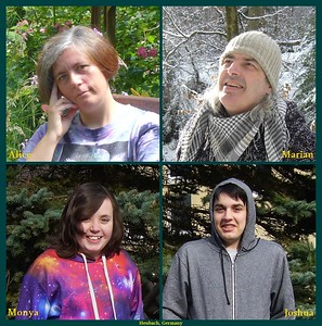 Alice, Marian Johannes, Monya Alice & Joshua Allan