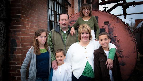 Shawn-Nicole Family 2012