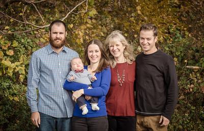 Sheeran Family Photo