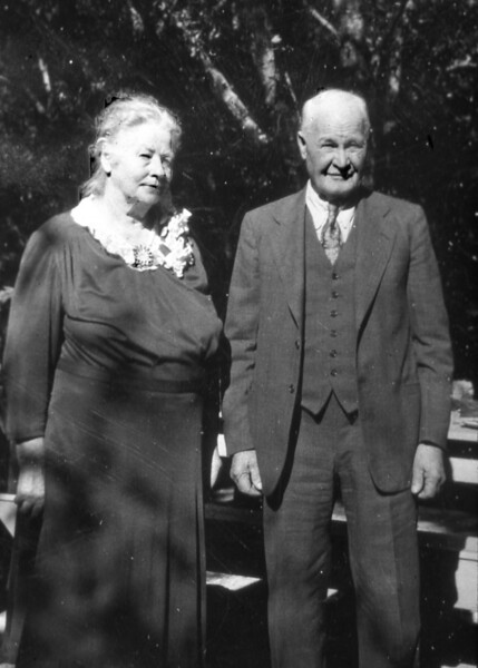 Pure speculation:  Sophie and Gust A. Olson, Aunt and Uncle who raised Mauritz L. Nelson