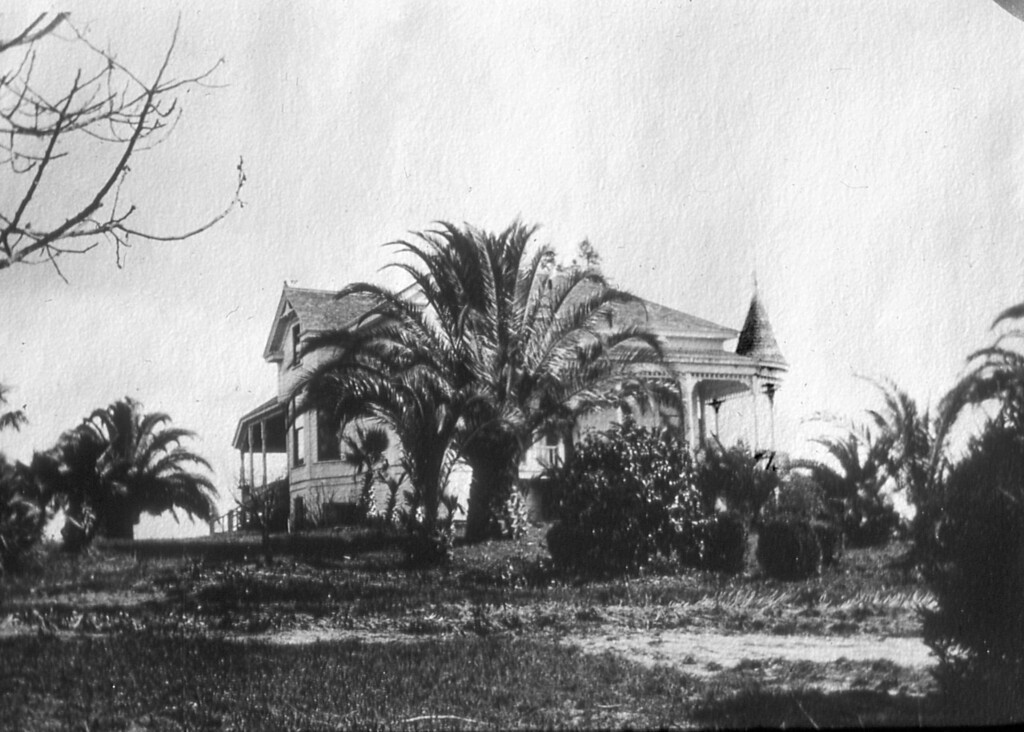 The Scheidecker grand house on Vine Hill Road.  Unknown date.