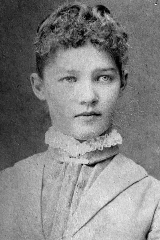 Speculation is that this is either Sarah Alice Bower, or her sister Elizabeth Mary Bower.
