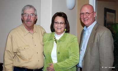 Doug Krebsbach, Nancy Hill Krebsbach, David Borlaug.