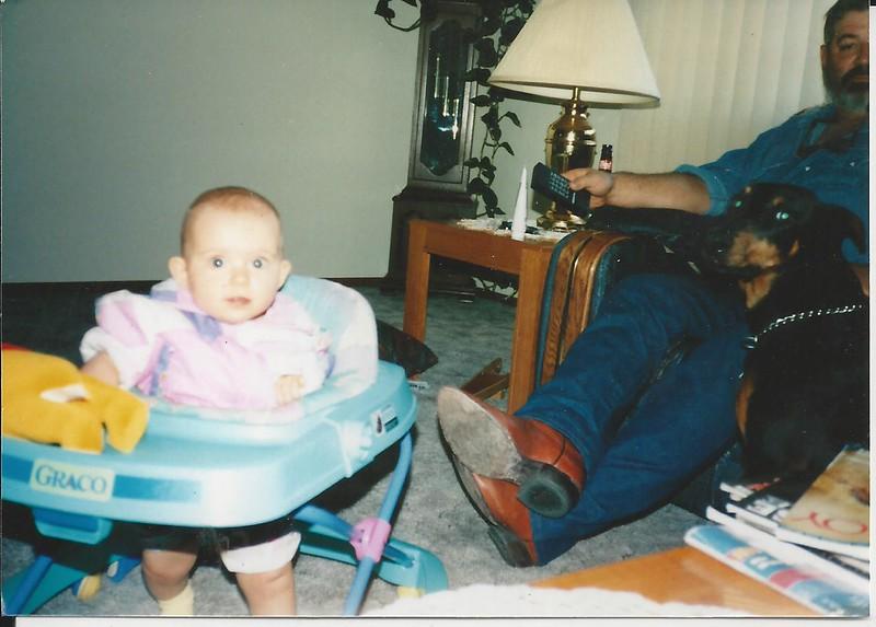 shelby grandpa bob rosie june 1996
