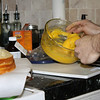 Layer 3: more lemon curd.  DELICIOUS lemon curd.