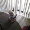 Ed has ALWAYS loved the blinds at Grandma and Grandpa's apartment!