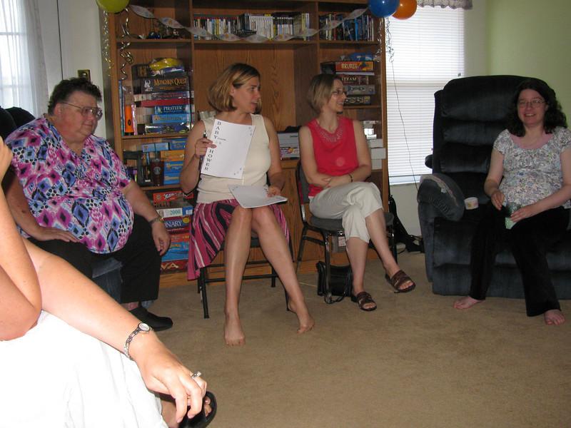 @Carol's baby shower, July 2010