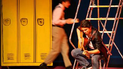 Magic Changes.  Act 1, Scene 3 Rydell High School Hallway