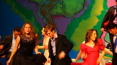 Shakin at The High School Hop.  Act 2, Scene 1
