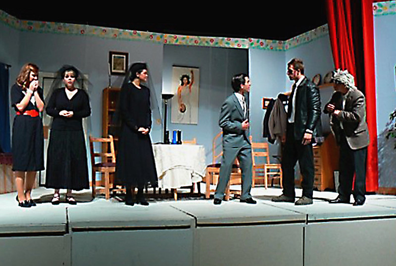 "Bethany (2nd from left) in ""Arsenic and Old Lace"""