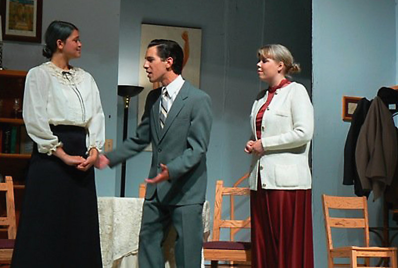 "Bethany (far right) in ""Arsenic and Old Lace"""