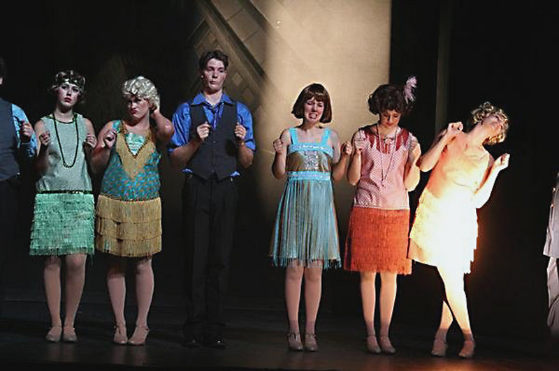 "Josh (the only male) in ""Thoroughly Modern Millie"", Sep. 2008 at ECPAC"