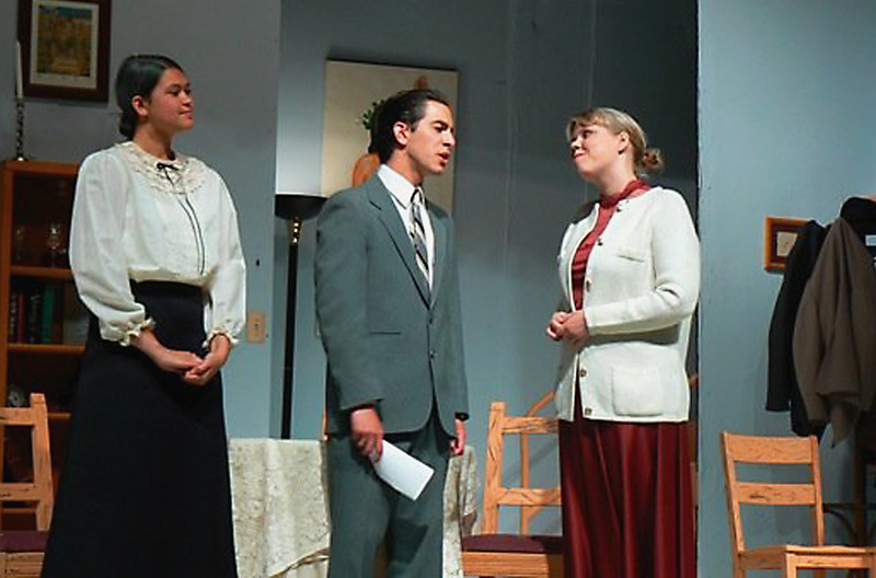 "Bethany in ""Arsenic and Old Lace"" at Mt. Empire"