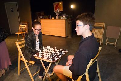 Cheyenne and Conrad - Chess