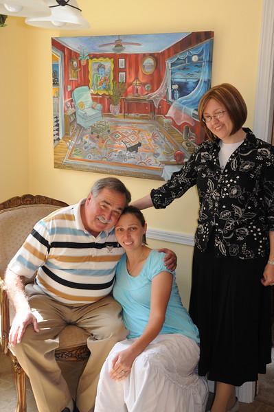 Ken Reid, Samantha Rayburn, & Natalie