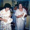 Aunt Mildred & Aunt Tudy - Carlson reunion in Austin