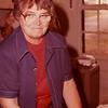 Aunt Tudy Carlson in kitchen (in 1970s)