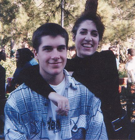 Chris and Jen in March 1995